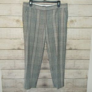 J. Crew FactorySkimmer Wool Pants Size 10